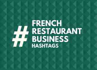 hashtags for french restaurant