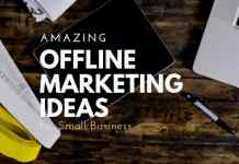 offline marketing ideas list
