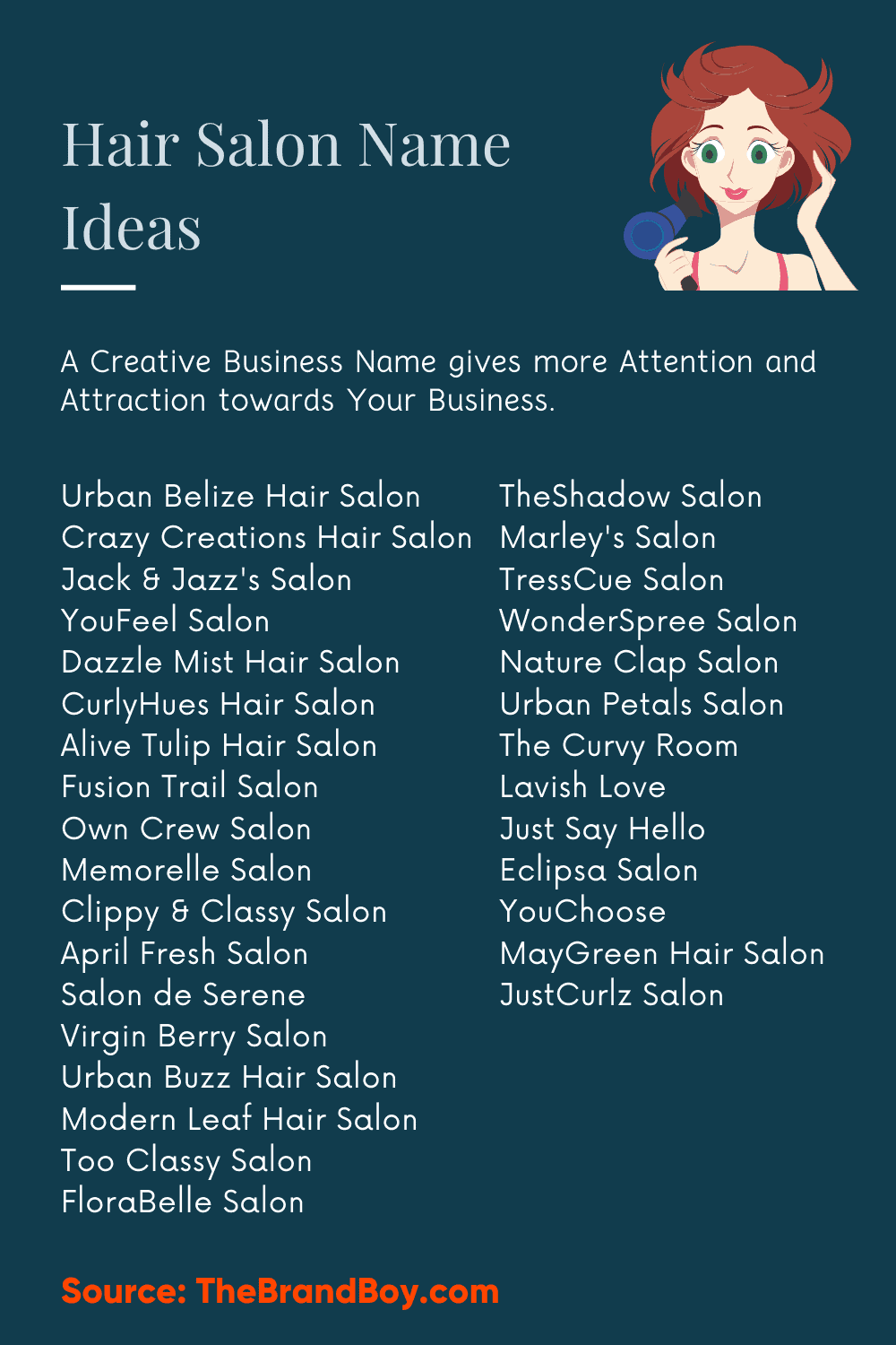 Hair And Makeup Company Name Ideas  Saubhaya Makeup