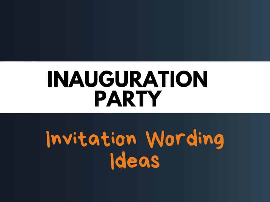 48 best inauguration party invitation