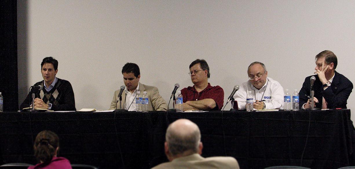 Yours truly, Steve Gonzalez, John Warner, Phil Yanov, Trey Pennington