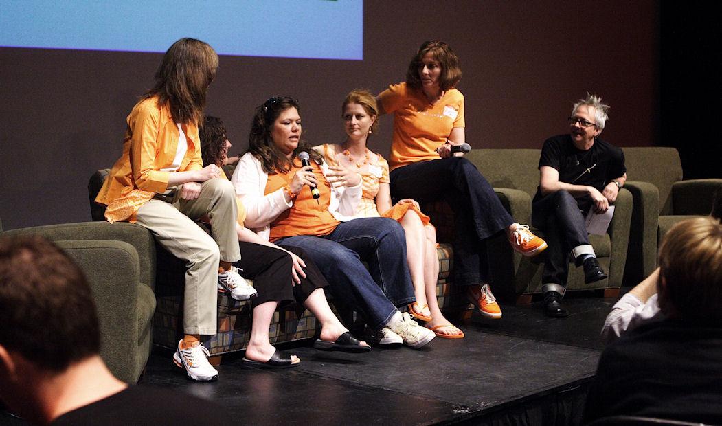 The Fiskateers panel