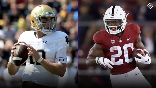 Football Friday:  #7 Stanford @ #8 Notre Dame Preview.