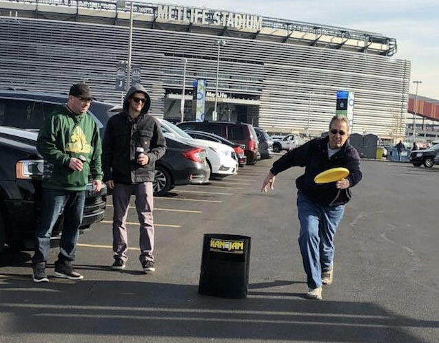 Football Friday.  Tailgate Games