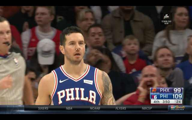 JJ Got Two Bloody Noses, Embiid Still Looks Like An MVP And More