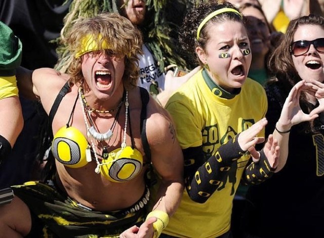 Worst Dressed Fans In Sports!