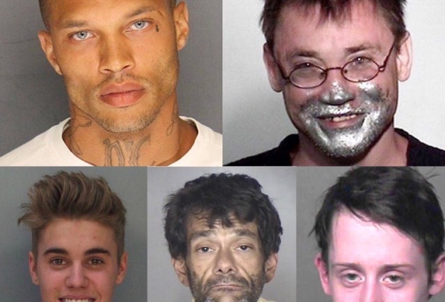 Mugshot Monday:  Face Tatted Methhead Lady