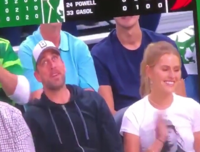 Aaron Rodgers Got Emasculated Again At A Bucks Game