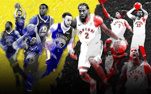 NBA Finals: Warriors vs. Raptors Series by the Numbers