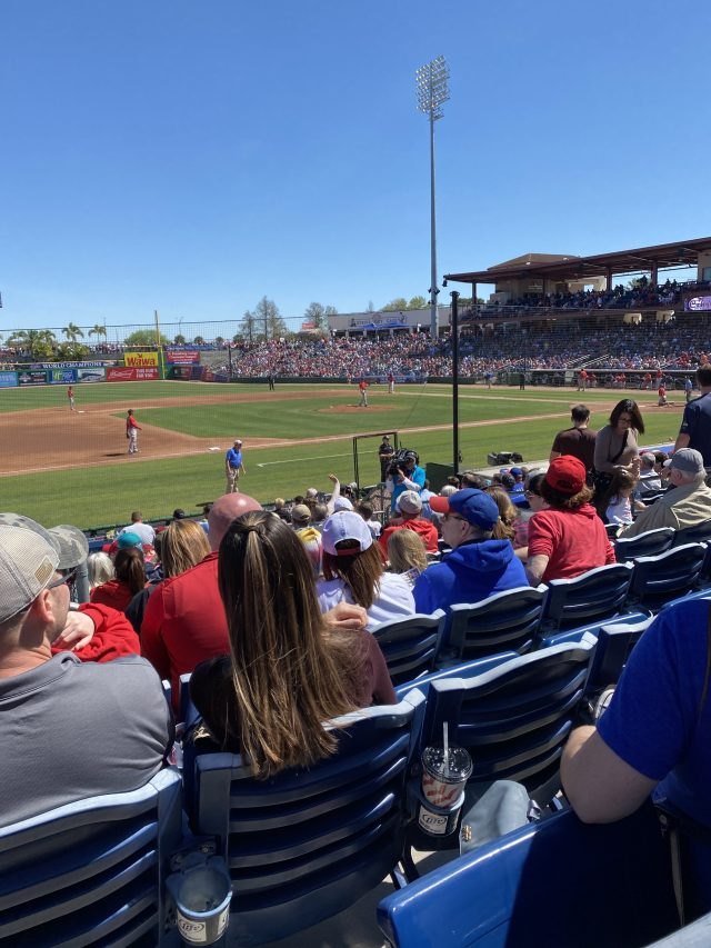 Thought's From Phillies Spring Training Since I Was Just There