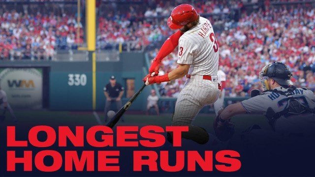 Start your Day With the Phillies Longest Home Runs of 2019