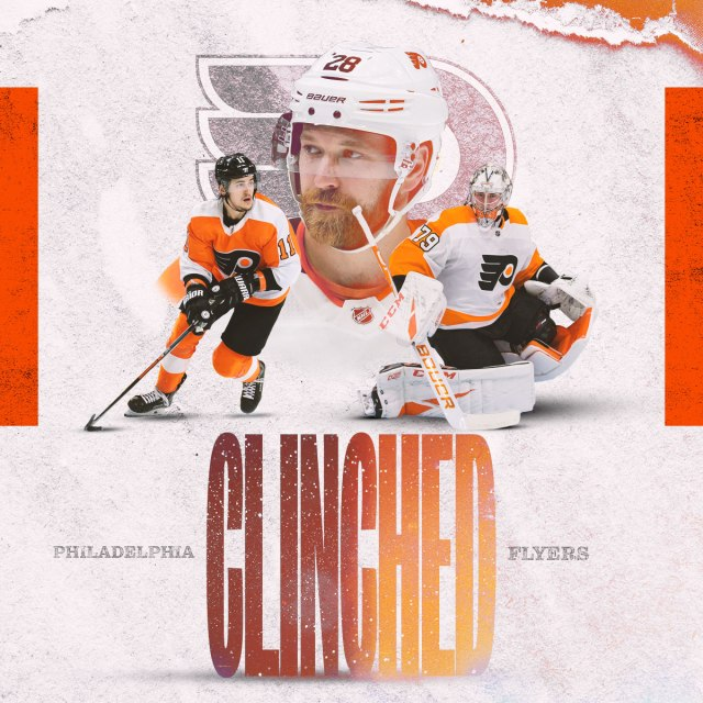 The Flyers Have Clinched A Playoff Birth!