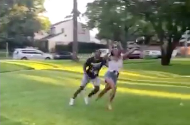 Guy Tries To D Up His Girlfriend And Gets Mossed