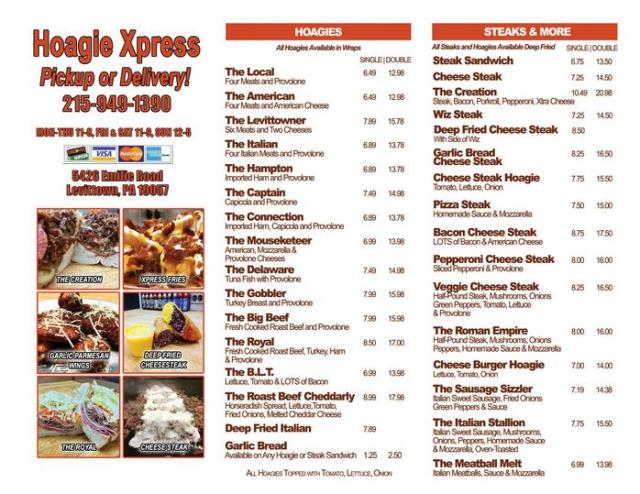 Walsh's Wing Review: Hoagie Xpress