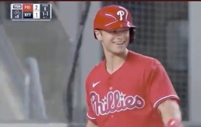 Phillies Logan O'Hoppe With The Happiest At Bat You'll Ever See