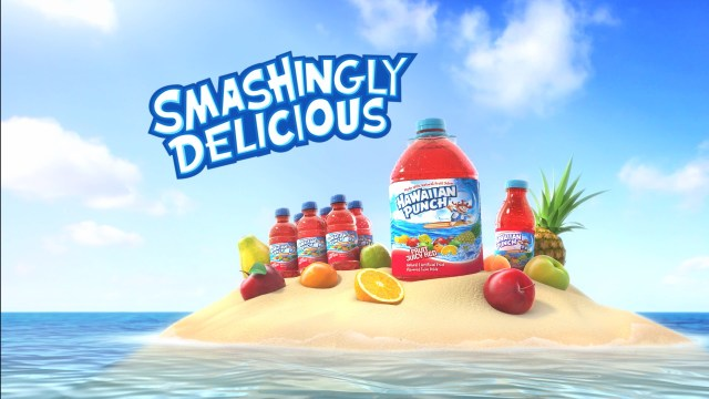 Why is your favorite drink Hawaiian Punch?
