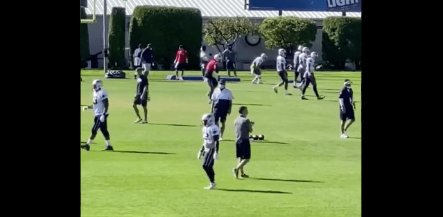 Does Anyone Have More Fun At Practice Than Cam Newton?