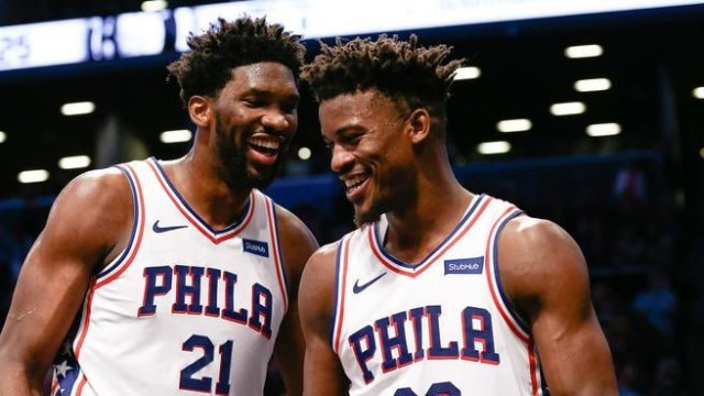 Joel Embiid, And All Of Philly, Watch Jimmy Butler Carry In The Playoffs
