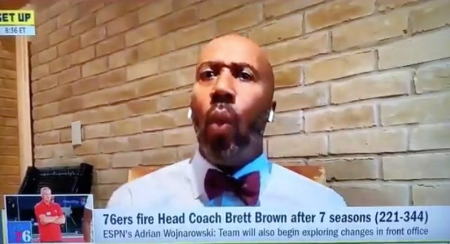 Bruce Bowen Went On Get Up To Cry Because Joel Emiid Hurt His Feelings Once