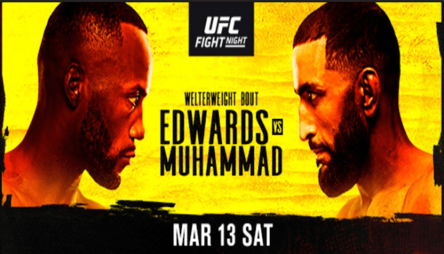 What To Expect From UFC Vegas 21: Edwards vs Muhammad