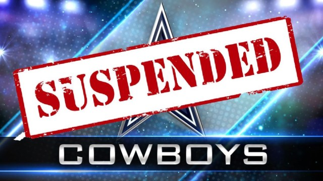 A Yearly Tradition:  A Dallas Cowboys Defensive Player Has Been Suspended
