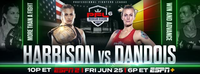 Judo Gold Medalist Kayla Harrison Headlines Action Packed Friday Night PFL Card