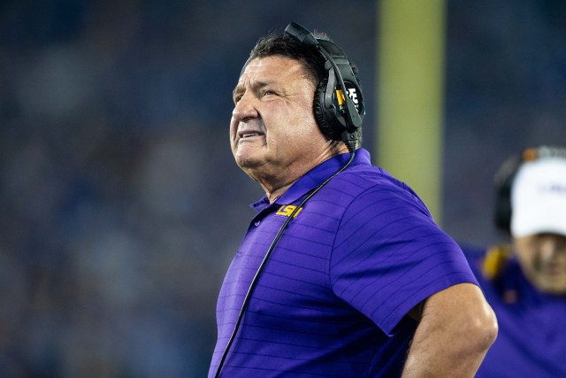 LSU and Ed Orgeron Will Part Ways at The End of the Season