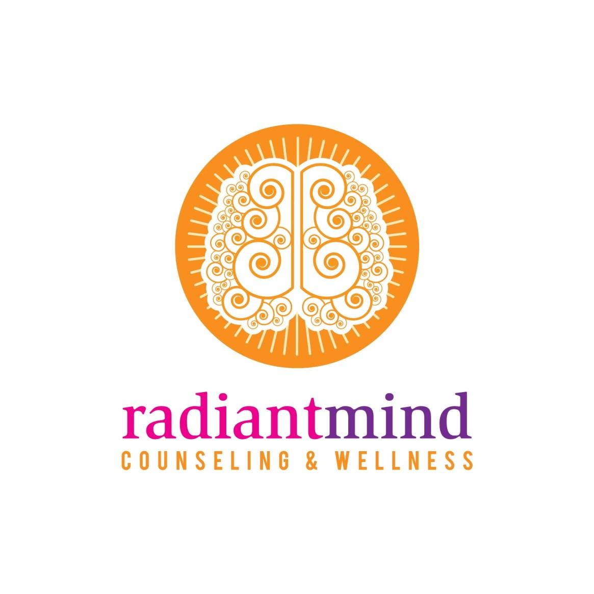 RadiiantMind Counseling & Wellness Logo