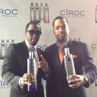 "Diddy and Ciroc Ambassador ""Flexxa"" Forbes"