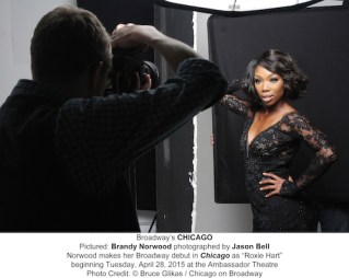 "Brandy Norwood Prepares Her ""Chicago"" Broadway Debut"