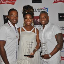 Rashad Burgess, Brandy and Bishop Oliver Clyde Allen