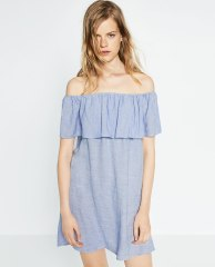ZARA - ROBE À VOLANTS - 39,95€