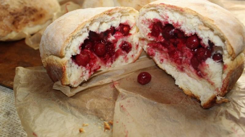 Ukrainian Bread Recipe with Cherries