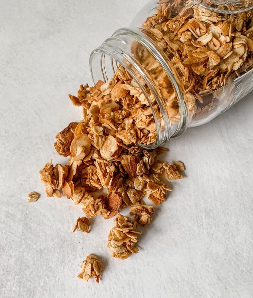 Gluten-Free Vanilla Granola
