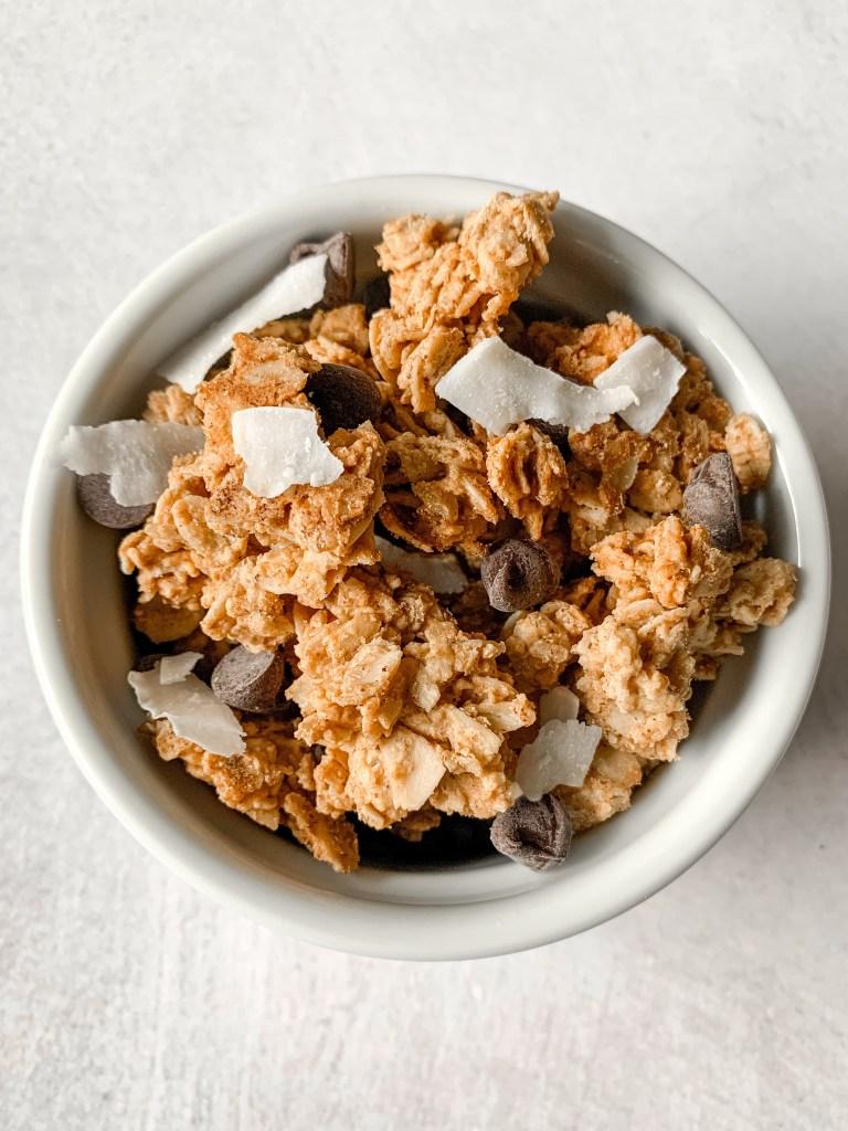 Gluten-Free Peanut Butter Granola