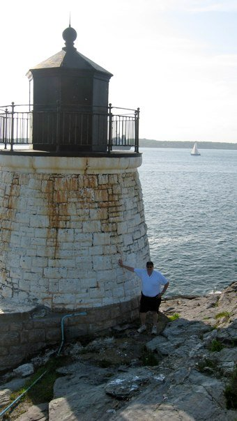 pdb at Castle Hill Lighthouse, Newport, RI