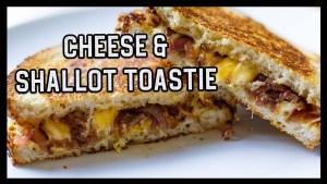 Shallot and Three Cheese Toastie