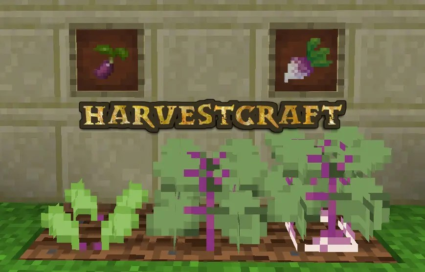 Harvest - 15 Forge Mods You Must Play in Minecraft