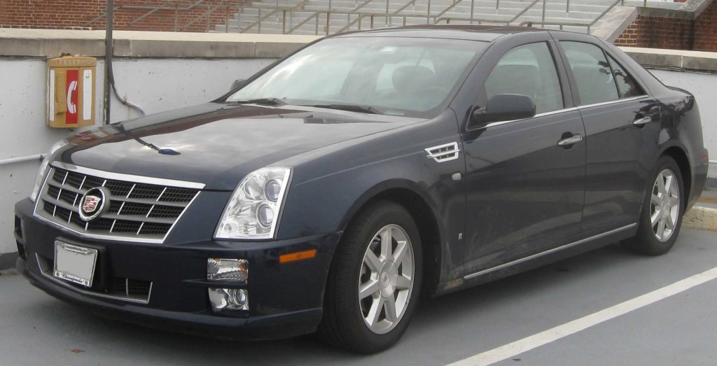 Cadillac STS - Used Luxury Cars to Avoid