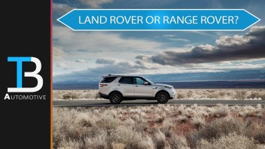 Difference in land rover and range rover