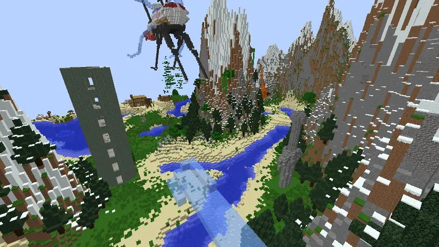 Extreme Survival Island - Incredible Minecraft Maps You Must Play
