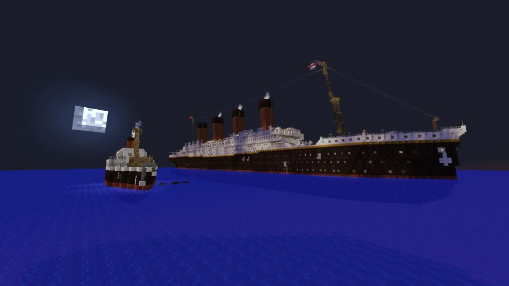 The Titanic MInecraft 1.12 build map - awesome custom maps for minecraft 1.12