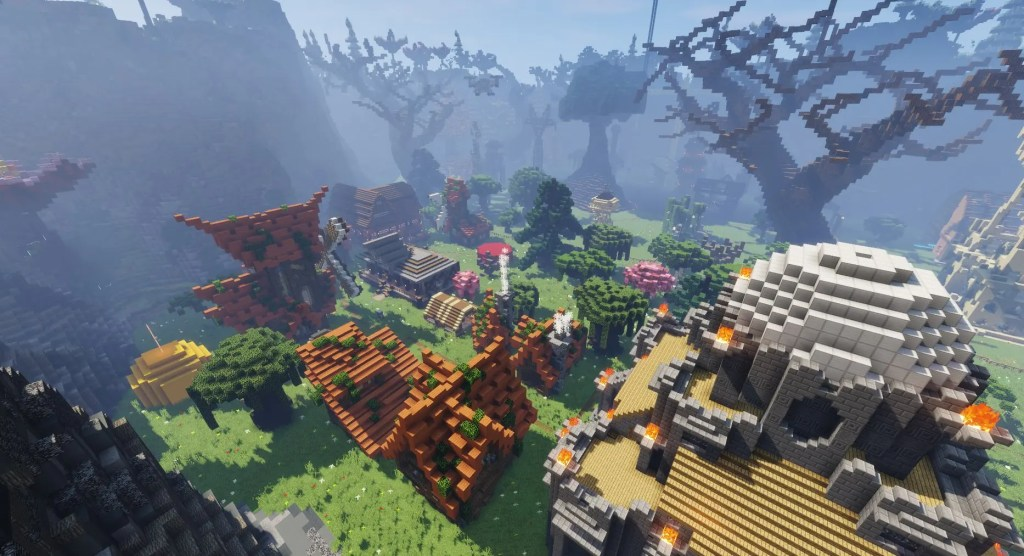 A Brief History of Slayrs custom map for minecraft 1.12