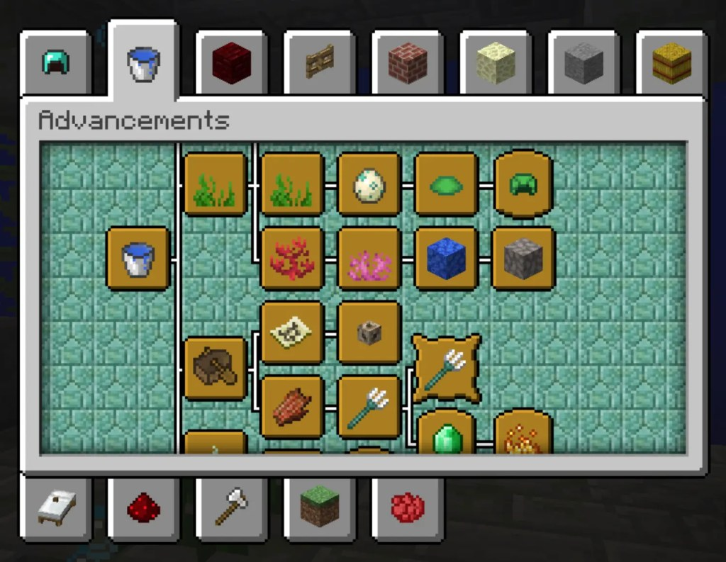 Expanded Advancement and Recipe Pack for Minecraft 1.13