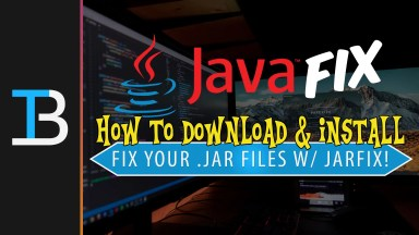 How To Use The Jarfix to Repair .jar Files on Your PC