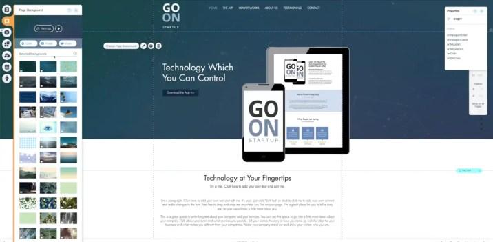 Change header on wix website