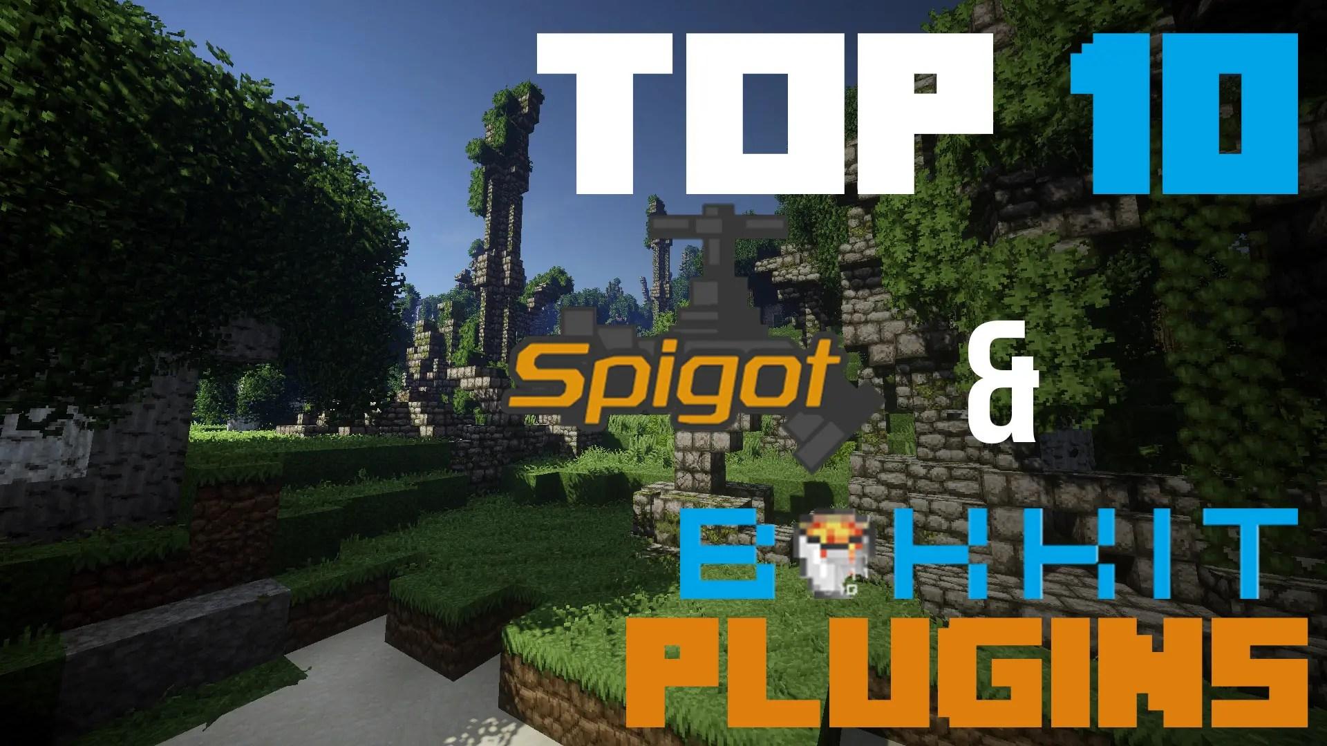 Top 10 Plugins for Bukkit & Spigot Servers - TheBreakdown xyz