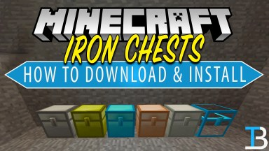 How To Download & Install Iron Chests in Minecraft