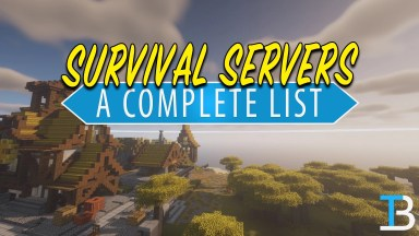 Best Minecraft Survival Servers List