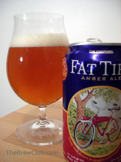 Fat Tire Amber Ale New Belgium Brewing The Brew Club